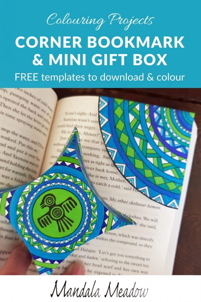 Colouring projects - FREE downloadble templates for papercraft colouring projects #coloring #colouring #papercraft #papercrafttemplates #freetemplates