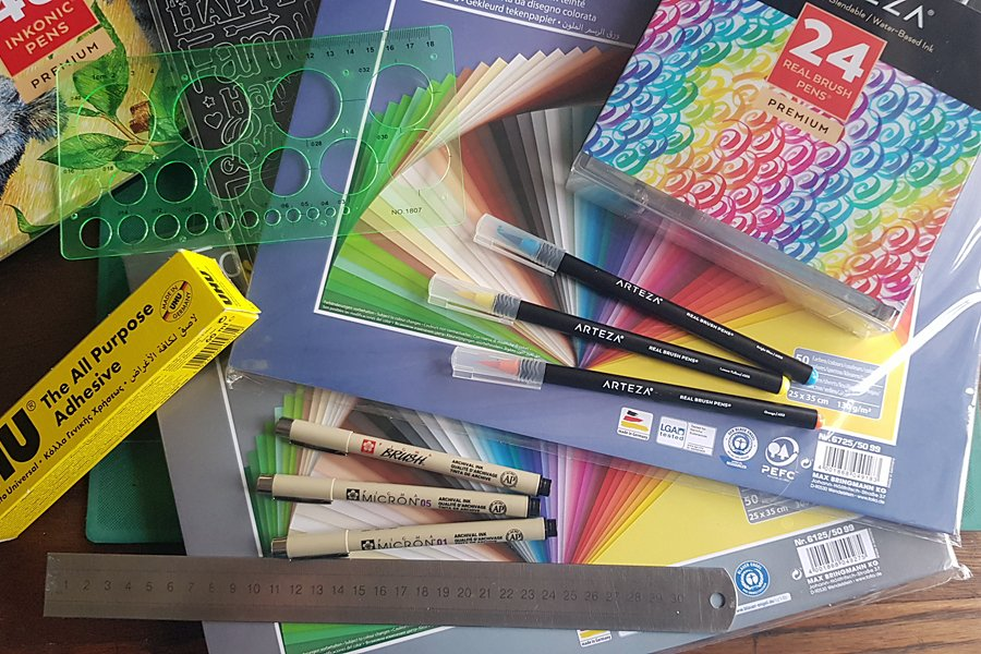 My favourite arts & crafts online suppliers