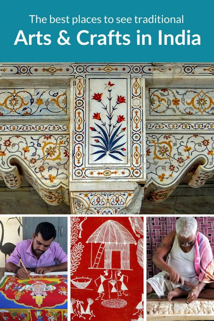 Traditional arts and crafts in India