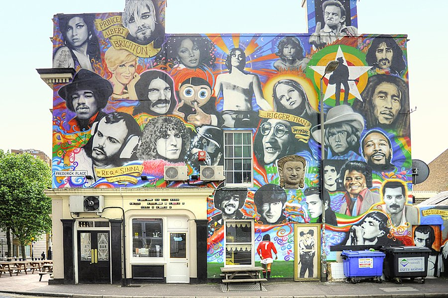 How to find Banksy's Kissing Coppers and other great street art in Brighton