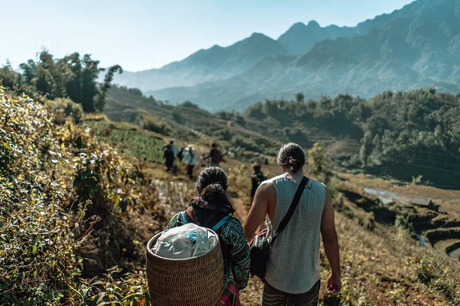 Hiking in Sapa, Vietnam
