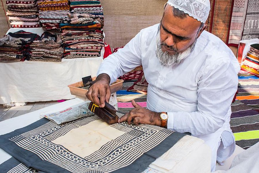 Arts and crafts in India | India Bagh printing