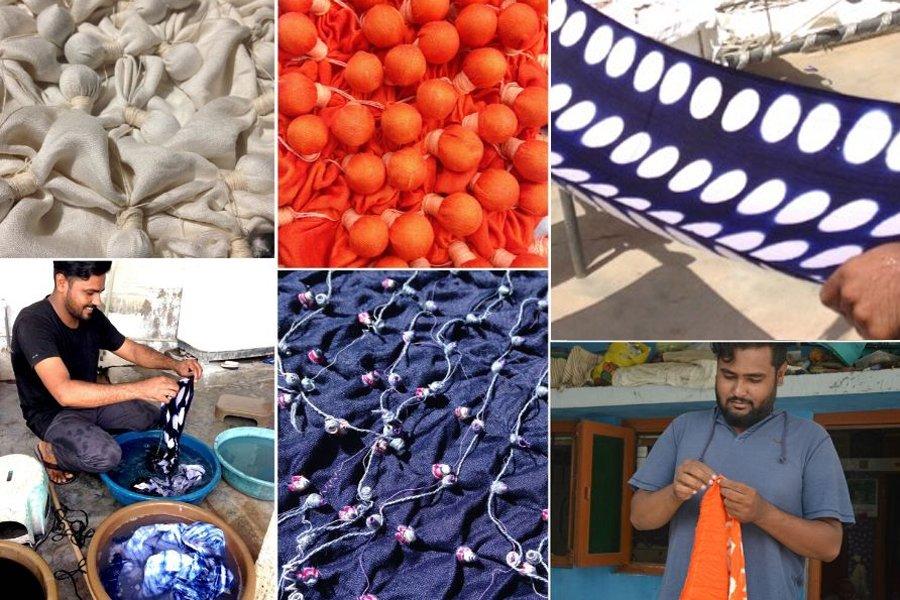 Tie dye in India