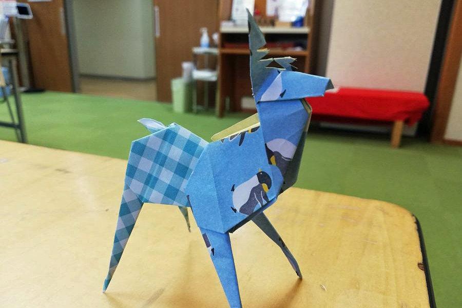 Origami workshop in Japan